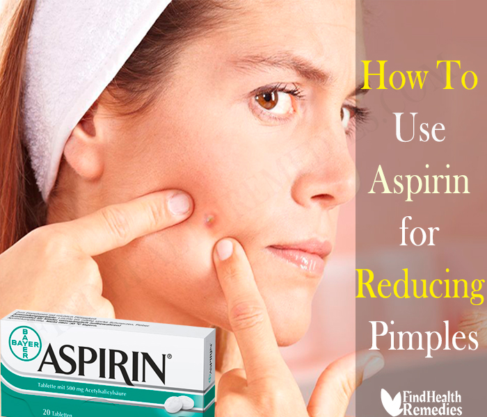 How to Use Aspirin for Reducing Pimples